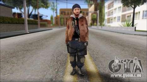 Division Skin für GTA San Andreas