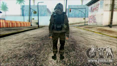 Les soldats aéroportés (CoD: MW2) v2 pour GTA San Andreas deuxième écran