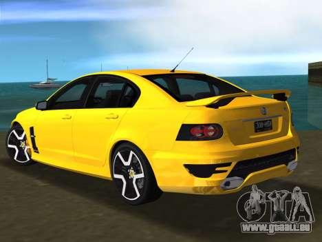 Holden HSV GTS 2011 für GTA Vice City rechten Ansicht