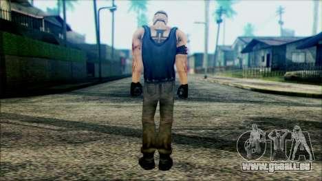 Manhunt Ped 12 pour GTA San Andreas deuxième écran