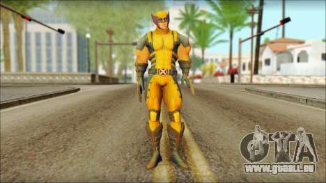 Wolverine Deadpool The Game Cable pour GTA San Andreas
