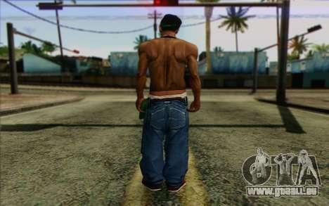 CиДжей в стиле BrakeDance pour GTA San Andreas deuxième écran