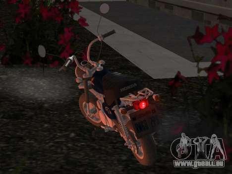 Honda Z50J Monkey für GTA San Andreas Seitenansicht