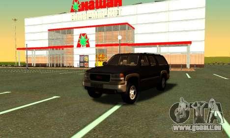 GMC Yukon XL ФСБ pour GTA San Andreas