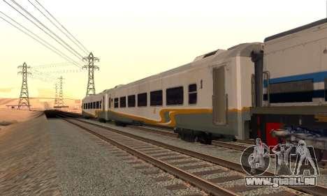 K1 Argo Traincar Indonésien pour GTA San Andreas