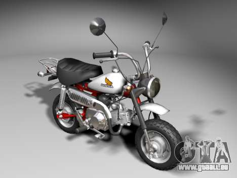 Honda Z50J Monkey für GTA San Andreas linke Ansicht