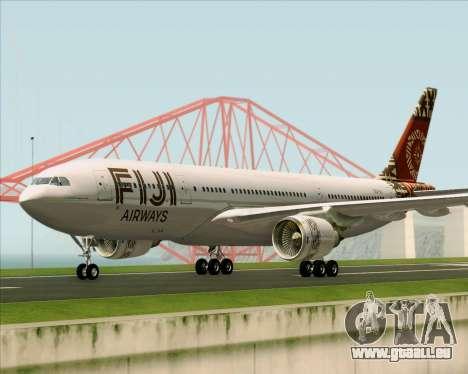Airbus A330-200 Fiji Airways für GTA San Andreas linke Ansicht