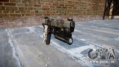 Pistolet Kimber 1911 Ghotex pour GTA 4