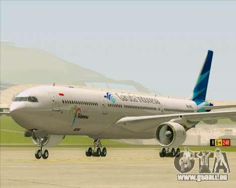 Airbus A330-300 Garuda Indonesia pour GTA San Andreas laissé vue