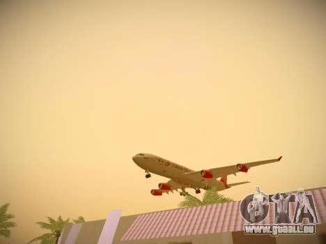 Airbus A340-300 Virgin Atlantic pour GTA San Andreas moteur