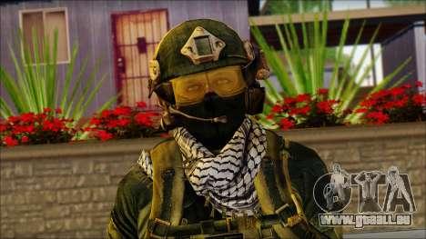 Combattant OGA (MoHW) v2 pour GTA San Andreas troisième écran