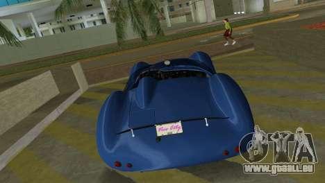 Aston Martin DBR1 pour GTA Vice City vue arrière