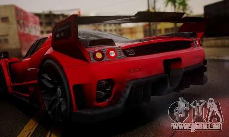 Ferrari Gemballa MIG-U1 pour GTA San Andreas vue intérieure