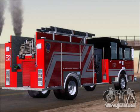 Pierce Arrow XT TFD Engine 2 für GTA San Andreas zurück linke Ansicht