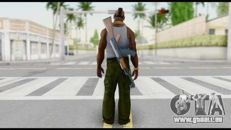 MR T Skin v6 für GTA San Andreas zweiten Screenshot