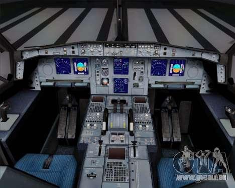 Airbus A340-311 Turkish Airlines (Star Alliance) pour GTA San Andreas vue de dessous
