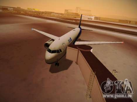 Airbus A320-211 All Nippon Airways pour GTA San Andreas