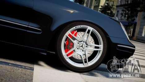 Mercedes-Benz E320 für GTA 4 rechte Ansicht