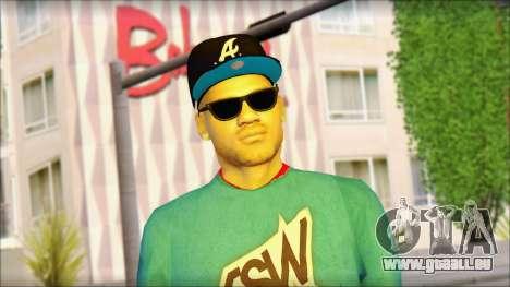 Superstar pour GTA San Andreas troisième écran
