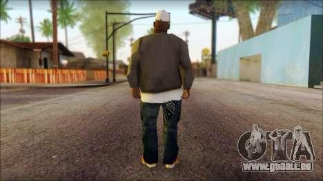 Afro - Seville Playaz Settlement Skin v3 pour GTA San Andreas deuxième écran