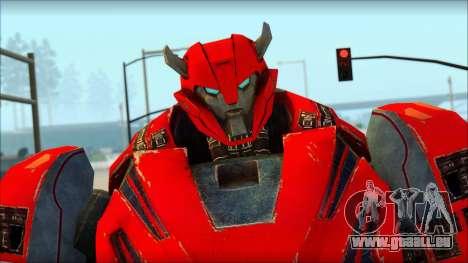 Cliffjumper für GTA San Andreas dritten Screenshot