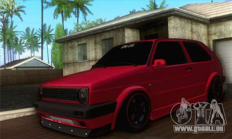 Volkswagen Golf Mk2 Low Life für GTA San Andreas
