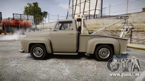 Vapid Tow Truck Jackrabbit pour GTA 4 est une gauche