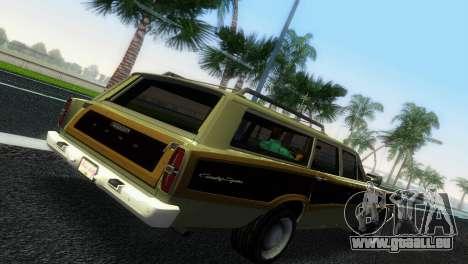 Ford Country Squire pour une vue GTA Vice City de la droite