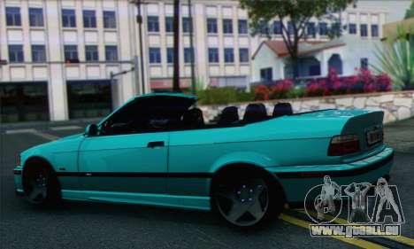 BMW 3-series Cabrio pour GTA San Andreas laissé vue