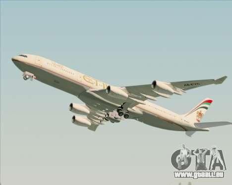 Airbus A340-313 Etihad Airways für GTA San Andreas Motor