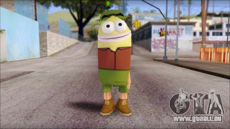 Campguy from Sponge Bob pour GTA San Andreas