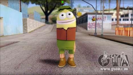 Campguy from Sponge Bob pour GTA San Andreas
