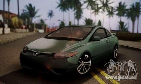 Honda Civic SI 2006 für GTA San Andreas