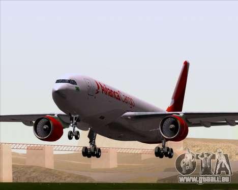 Airbus A330-243F Avianca Cargo für GTA San Andreas Unteransicht