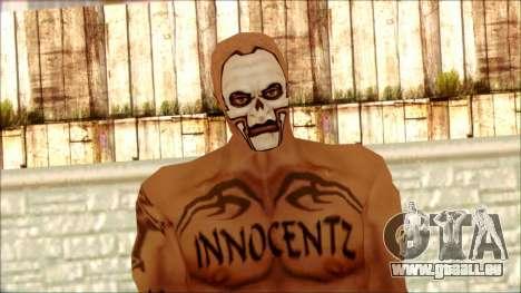 Manhunt Ped 5 pour GTA San Andreas troisième écran