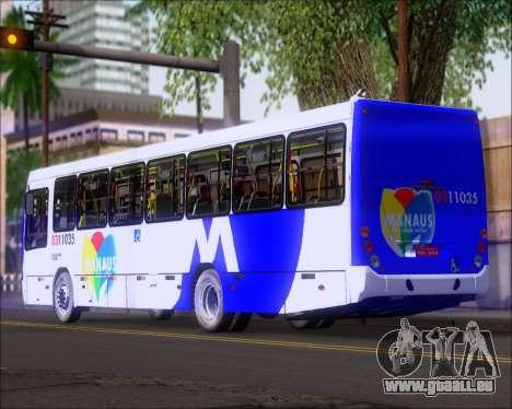 Marcopolo Torino 2007 Volksbus 17-230 EOD pour GTA San Andreas laissé vue