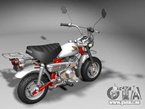 Honda Z50J Monkey für GTA San Andreas rechten Ansicht