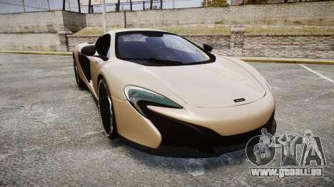 McLaren 650S Spider 2014 [EPM] Yokohama ADVAN v2 pour GTA 4