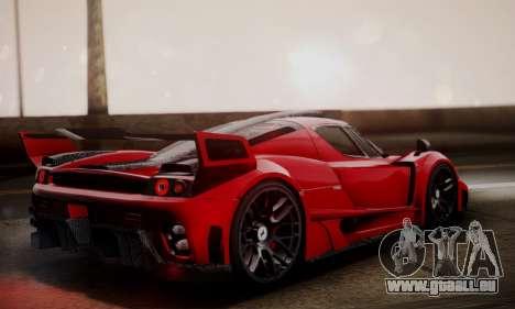 Ferrari Gemballa MIG-U1 pour GTA San Andreas laissé vue