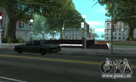 Eine neue U-Bahn-station in San Fierro für GTA San Andreas dritten Screenshot