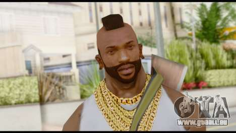 MR T Skin v6 für GTA San Andreas dritten Screenshot