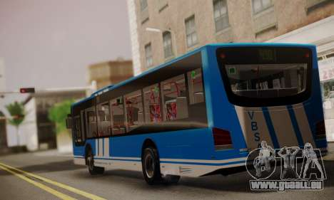 Design X4 Dreamer Blueline pour GTA San Andreas laissé vue