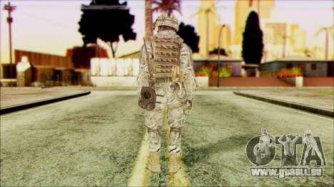 Waldläufer (CoD: MW2) v5 für GTA San Andreas zweiten Screenshot