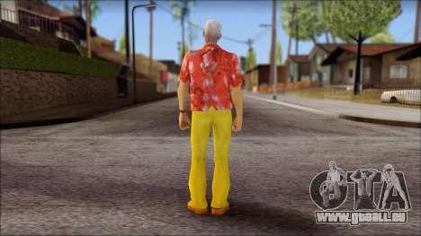 Doc from Back to the Future 2015 pour GTA San Andreas deuxième écran