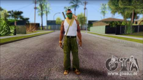 MR T Skin v12 pour GTA San Andreas
