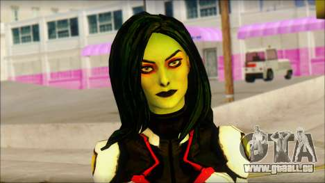 Guardians of the Galaxy Gamora v2 pour GTA San Andreas troisième écran