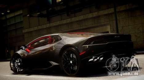 Lamborghini Huracan LP610-4 SuperTrofeo pour GTA 4 est un côté