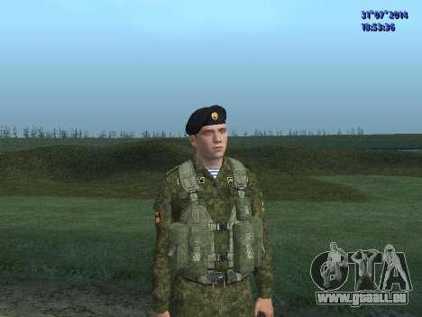 L'Officier De L'Infanterie De Marine pour GTA San Andreas
