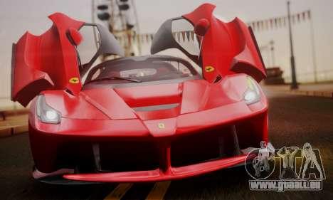 Ferrari LaFerrari F70 2014 pour GTA San Andreas salon