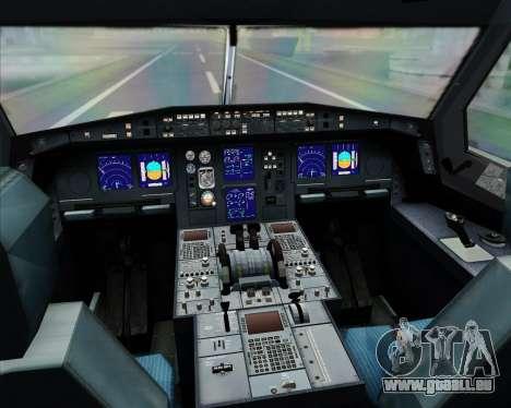 Airbus A330-300 Thai Airways International für GTA San Andreas Innen